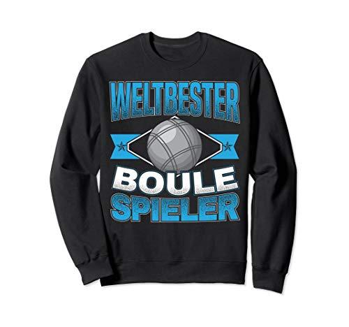 Weltbester Boule Spieler | Petanque & Boccia Spiel Sweatshirt
