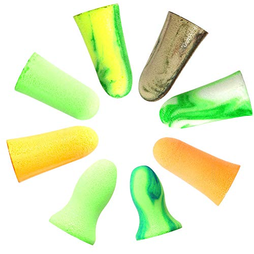 MOLDEX 使い捨て耳栓 コード無し お試し8種エコパック ケース付 (Camoplugs Sparkplugs Goin'green Meteors...