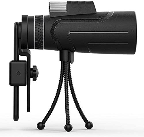 Telescopio monocular de Alta Potencia 16X50 Portátil sin prismáticos Monóculo de catalejo HD Ocular Grande A