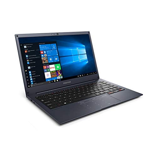 "Notebook Positivo Motion Q232B Intel® Quad-Core™ Windows 10 Home Flash 14"" - Cinza Azulado"