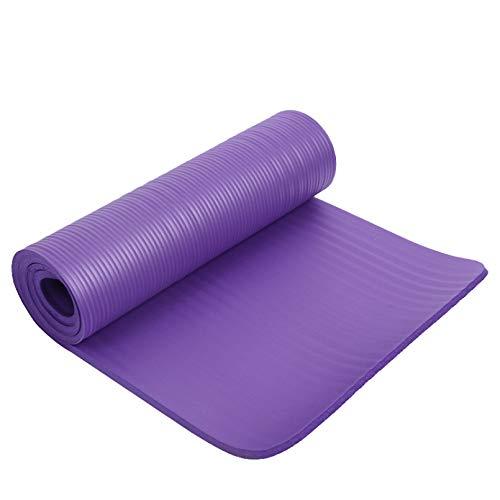 LUOXUEFEI Colchonetas Esterilla De Yoga Antideslizante Engrosada 183Cmx61Cm Alfombrillas De Gimnasio Cojín Deportivo Cojines De Gimnasia con Yoga