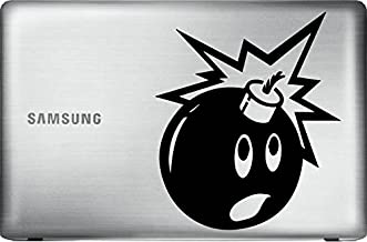 Black Adam Bomb Sticker the Hundreds (Black 7