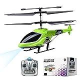 Elicottero telecomandato luci LED 2.4G, decollo/atterraggio con un solo tasto per elicotte...