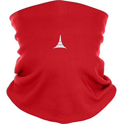 Face Mask Reusable with Filter – Anti Pollution Neck Gaiter – Face Cover Red