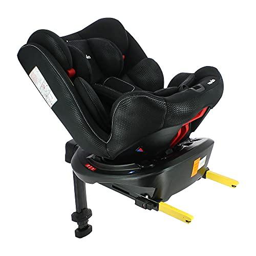 Silla de auto RANGER isofix 360° grupo 0/1/2/3 (0-36kg) - silla evolutiva con protección lateral - Nania