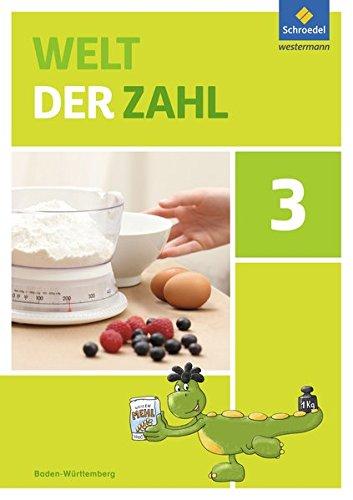 Welt der Zahl - Ausgabe 2016 für Baden-Württemberg: Schülerband 3
