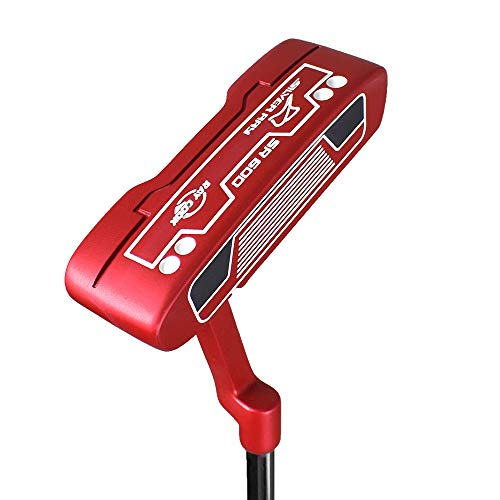 Ray Cook Golf Limited Edition Silver SR600 Putter, 35', Red