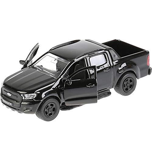 Ford Ranger Pickup Truck Black - Diecast Car Model 1:36 Scale Classic American...