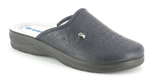 inblu Pantofole Ciabatte SANITARIE da Uomo MOD RH-32B Blu (45)