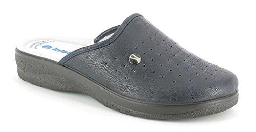 inblu Pantofole Ciabatte SANITARIE da Uomo MOD RH-32B Blu (43)
