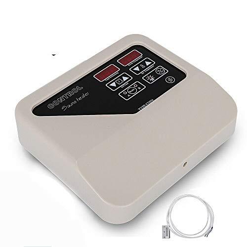 HaroldDol Saunasteuerung Saunasteuergerät mit Temperaturfühler, Kompatibel mit Saunaofen 3-9KW, Zwei Arbeitsmodi, Saunaraum Saunatechnik für Hause Saunaraum und Kommerzielle Anlässe.