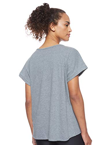 Under Armour Graphic Sportstyle Fashion SSC Camisa Manga Corta, Mujer, Gris, MD