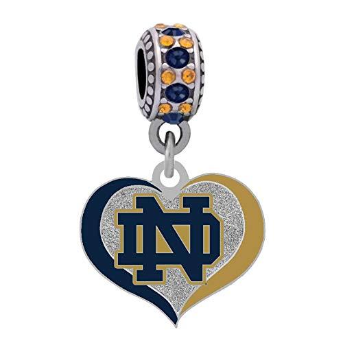 Notre Dame University Heart Charm