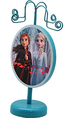 Disney Frozen Colgador Madera 2 Organizadores de Joyas para Armario Almacenaje de Adornos Festivos Artículos para el hogar, Multicolor (Multicolor), única