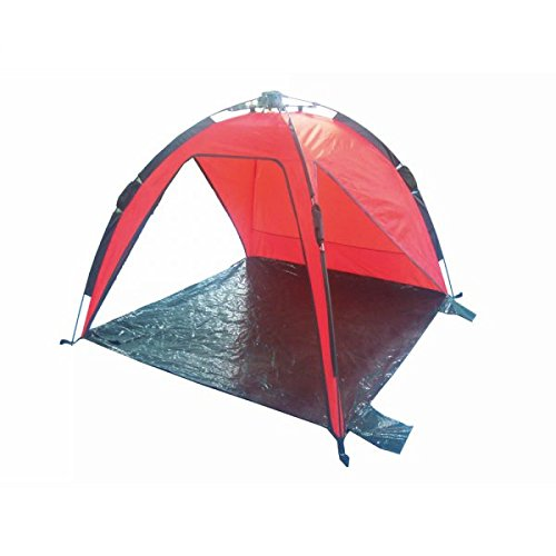 scoprega cortina Igloo de playa Domus con apertura rápida con sistema automático. Tienda de playa, de camping, de playa, de montaña. 170x 170x 120H cm