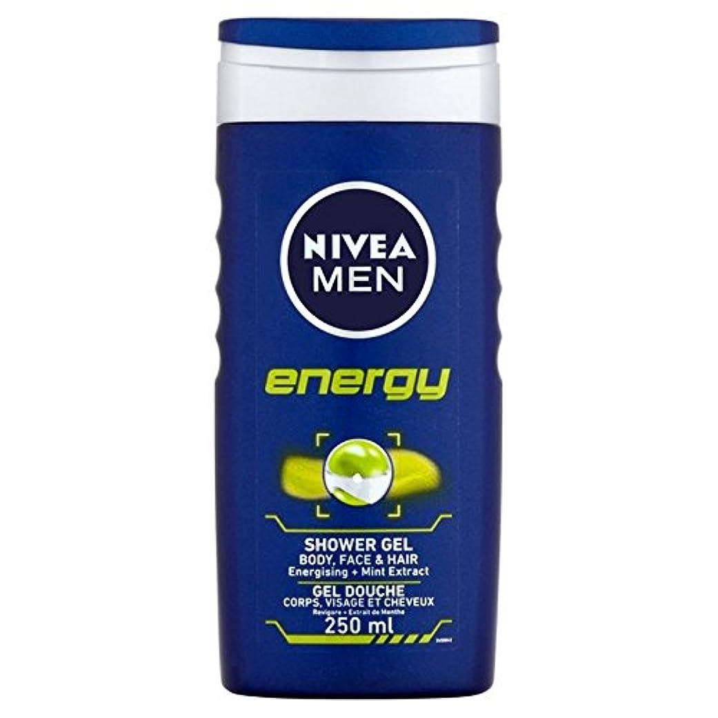 ピケ想像するありがたいNivea Men Energy 2 in 1 Shower 250ml (Pack of 6) - 1つのシャワー250ミリリットル中ニベアの男性のエネルギー2 x6 [並行輸入品]