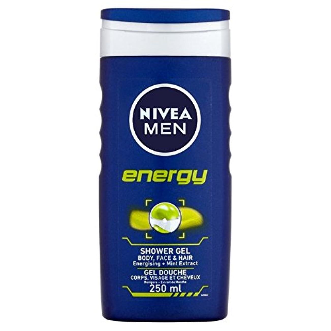 道を作る浸す守銭奴Nivea Men Energy 2 in 1 Shower 250ml - 1つのシャワー250ミリリットル中ニベアの男性のエネルギー2 [並行輸入品]