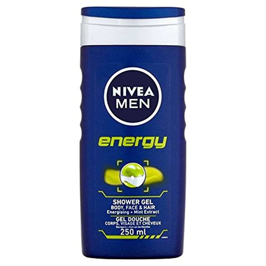ゲート愛されし者オンス1つのシャワー250ミリリットル中ニベアの男性のエネルギー2 x2 - Nivea Men Energy 2 in 1 Shower 250ml (Pack of 2) [並行輸入品]