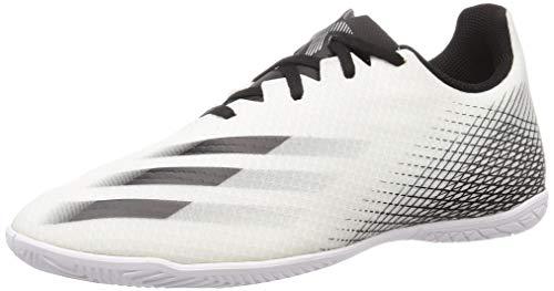 adidas Herren X Ghosted 4 Indoor Fußballschuh, FTWR White, 41 1/3 EU
