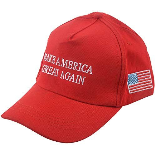 RETYLY Gorra De Tenis De AlgodóN Ajustable Gorra De Beisbol Gorra De Golf Golf Cap Make America Great Again Gorra De Beisbol Rojo