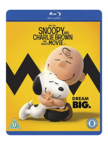 Snoopy And Charlie Brown - The Peanuts Movie [Blu-ray] [2015]