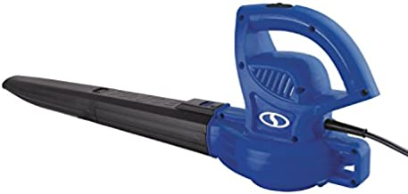 Sun Joe SBJ597E-SJB 6-Amp 155 MPH Electric Leaf Blower, Blue