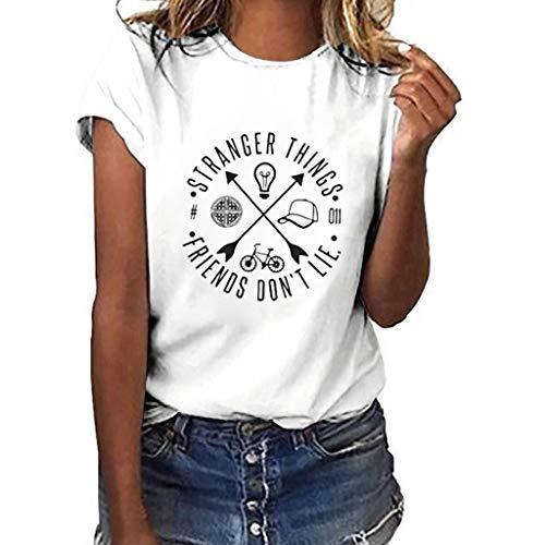 Mujer Blanca, L Custom Vinyl Camiseta Gaysper