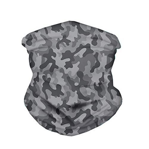 Polvo-como máscara facial polaina del cuello multi-función de protección solar UV pañuelo bus Barakura magia transpirable pañuelo de Headwear Hombre Mujer deportes al aire libre cinta para la cabeza