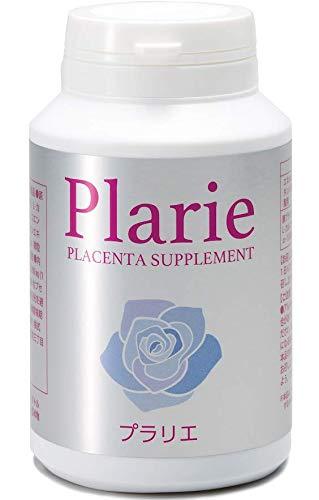 プラリエ プラセンタ 葉酸 サプリメント 医師推奨 クリニック取扱 妊活サプリ 女性の健康をサポート 妊活中の方にも ジネコ、メニコン