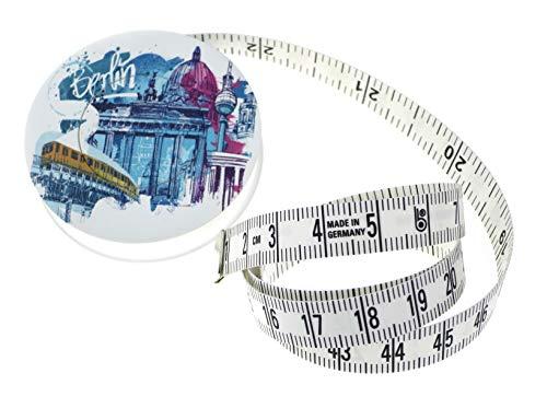 hoechstmass Balzer 80244d berb Roll Cinta métrica ROLLFIX Dekor Berlin, 150cm/60Pulgadas, ABS/Polyfibre, Multicolor, 5x 5x 1,4cm
