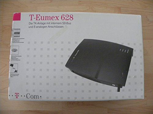 Telekom T-Eumex 628 Tk-Anlage 1xS0-extern 1xS0-intern 8xa, b USB Schwarzblau