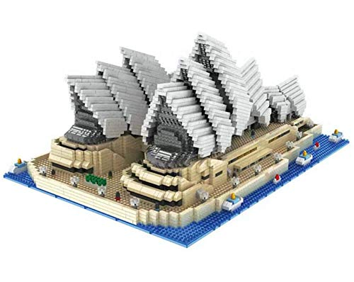 QSSQ Kinder Building Block Architektur Sydney Opera House Modell Educational Kinder Spielzeug Teile Kinder Geschenke