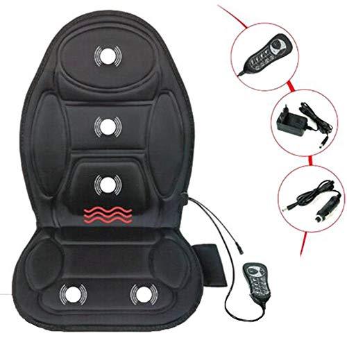LHRZXL Sitzauflage Auto Heizung Massage Auflage, Autositzkissen mit heizendes Massagesitzauflage, Heizauflage für Bürostuhl, Universal Beheizbare Kissen Sitzheizung Auto Auflage 12V