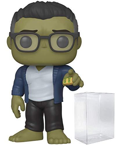 Pop Marvel: Los Vengadores Endgame – Hulk con Taco Pop! Figura de Vinilo (Incluye Funda Protectora Compatible con Pop Box)