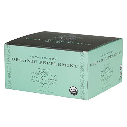 Harney & Sons Organic Peppermint Tea 1.76oz/50g (50 Tea Bags)