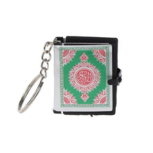 Xuniu Mini Ark Quran Buch Keychain, kann Arabisch Koran Schlüsselanhänger Muslim Schmuck Geschenk lesen