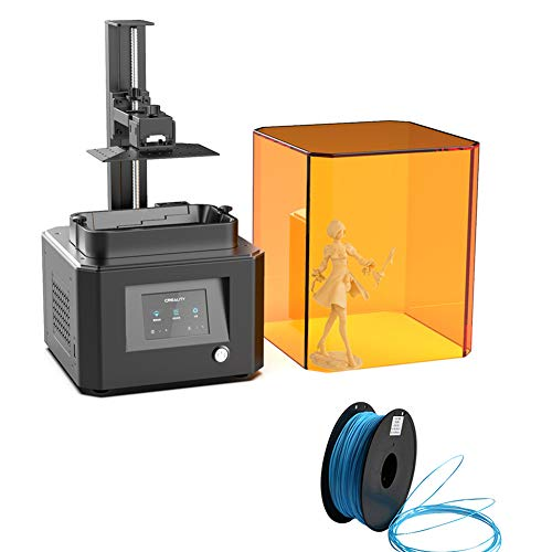 3D Printer Ld-002r Lcd Photopolimerization Quick Assembly UV Resin DIY 3D Printer Work Kit with Resume Printing Function Give 1 3D Filament as Gift