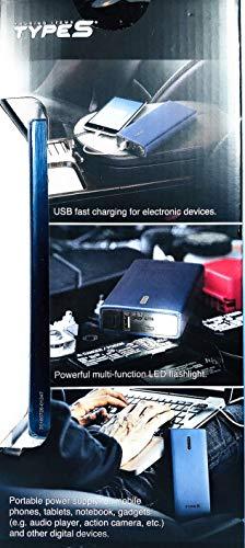 TYPES 10000mAh Jump Starter and Portable Power Bank
