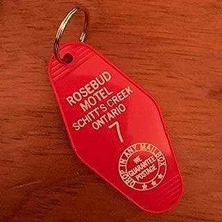 Rosebud Motel Keychain Vintage Style Schitt's Creek Ontario Room 7