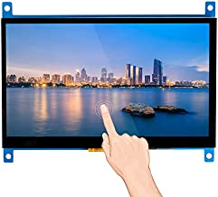 SunFounder Raspberry Pi 4 Display Touchscreen 7 Inch HDMI 1024×600 USB IPS LCD Screen Display Monitor for Raspberry Pi 400 4 3 Model B, 2 Model B, and 1 Model B+, Windows Capacitive Touch Screen
