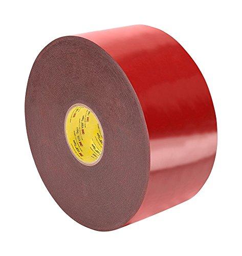 TapeCase 4611 VHB schuimrubberen plakband, 27,9 cm x 91,4 m, grijs lengte: 28 cm