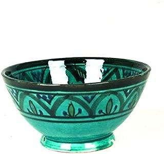 Farbige Tortenständer Keramik Tortenplatte Geschirr Teller Mediterran Rund Deko