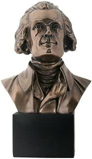 YTC President Presidential Thomas Jefferson Bust Bronze Finish Statue Figurine