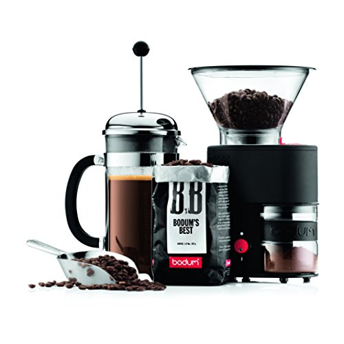 The Bodum Bistro Burr Grinder