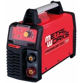 Metalworks TEC 160 - Soldadora electrodos MMA inverter: Amazon.es: Industria, empresas y ciencia