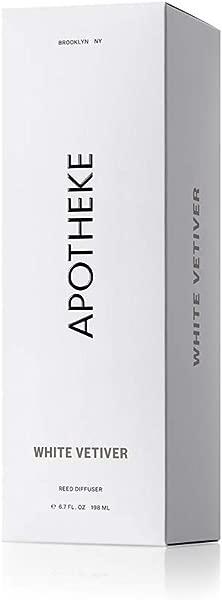 APOTHEKE White Vetiver Diffuser 6 7 OZ