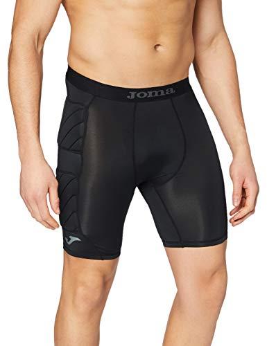 Joma Protect, 100010, Pantalón Interior para Hombre, Negro, L-XL
