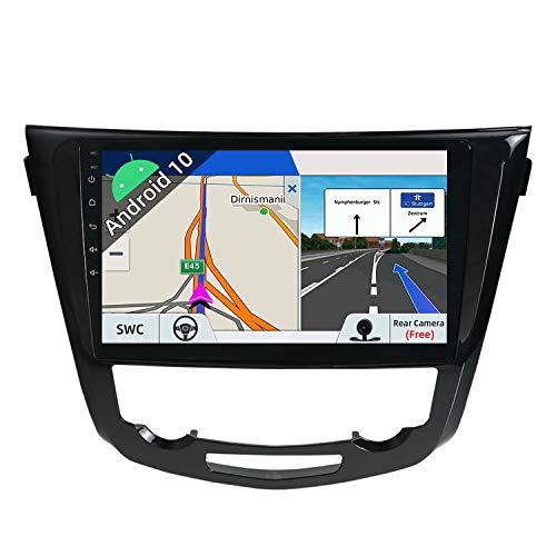 JOYX Android 10 Autoradio para Nissan X-Trial (2014-2018) - [2G+32G] - Gratis Cámara Canbus - 10.1 Pulgada IPS Screen - 2 DIN - Apoyo Dab 4G WLAN Bluetooth Carplay Mandos de Volante Google Mirrorlink