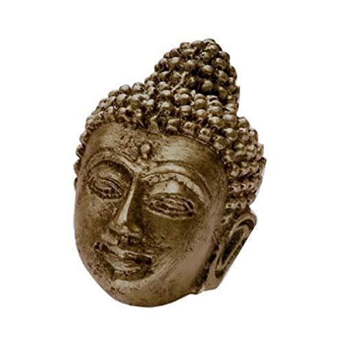 Siro Designs SD100-128 Buddha Knob, 2.91-Inch, Antique Brass