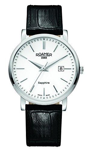 Roamer Herren-Armbanduhr Classic Line Analog Quarz 709856 41 25 07